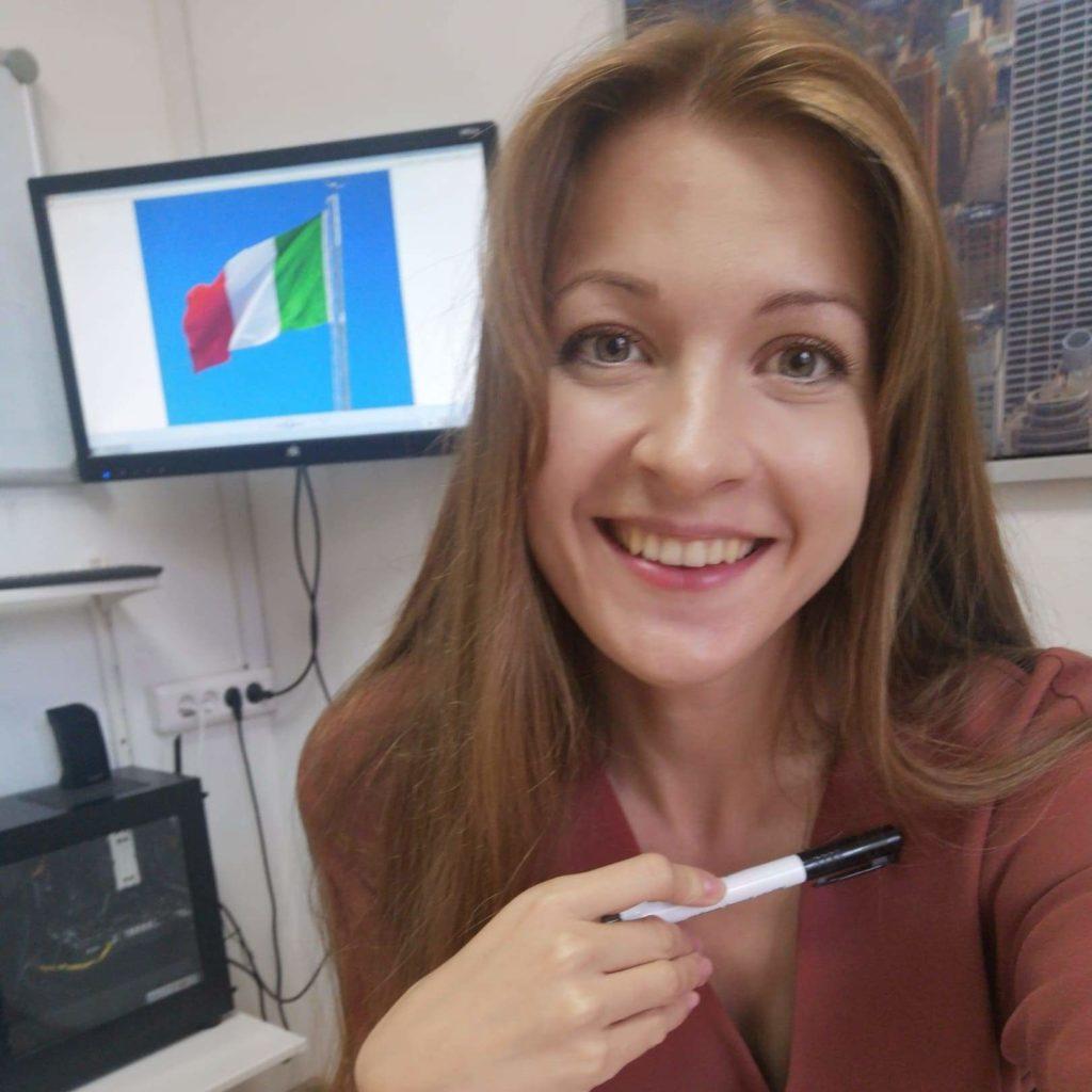 """Преподаватель итальянского языка в """"Интерлэнг"""""""